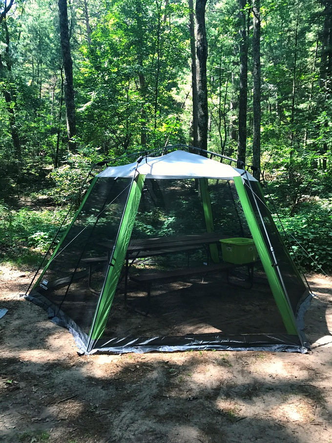 Camping Gear Review: Coleman Instant Screen House, Keep Away